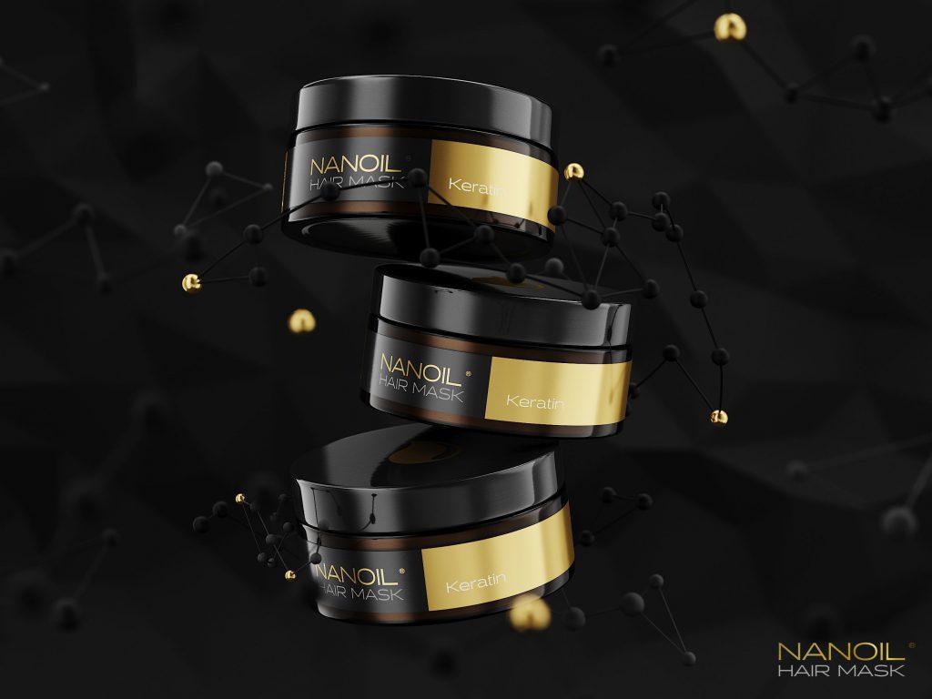 die beste Keratinmaske für Haare Nanoil