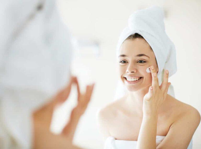 Hautpflege in Abhängigkeit von konkreten Problemen