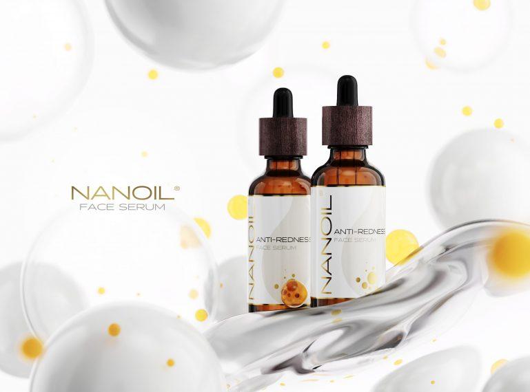 Rote Äderchen? Das ist kein Problem, wenn Sie das Nanoil Gesichtsserum für die Haut mit Neigung zu Couperose haben!